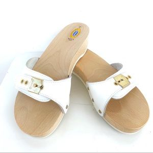 Dr. Scholl's Made in Italy Wooden Clog Sandals